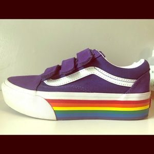 VANs Purple suede Shoes!